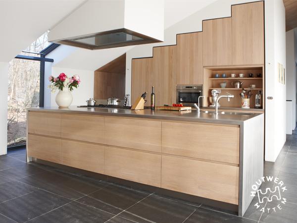 Houten Keuken Ideas : Aanbouw keuken in hout beste ideen over huis en interieur