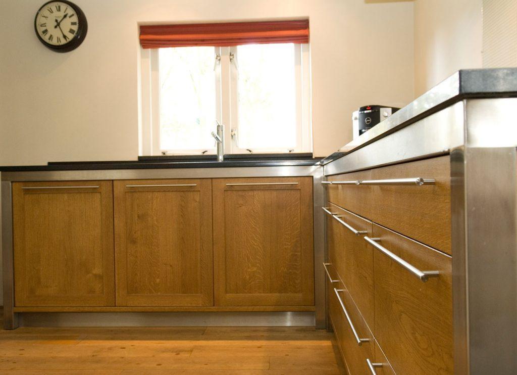 Industriële keukens op maat houtwerk hattem keukens