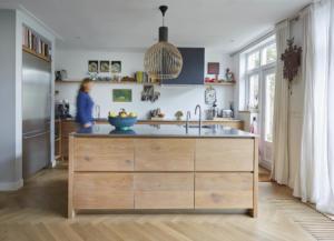 Woonkeuken bussum Eiken keuken