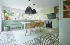 Moderne Keuken Eiken gekleurd