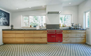 Iepen Houten keuken van Houtwerk Hattem