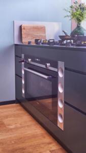 Moderne unieke houten keuken