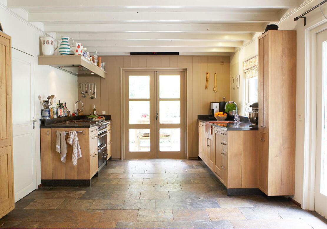 Landelijk Keuken Strakke : Landelijke keukens op maat houtwerk hattem keukens